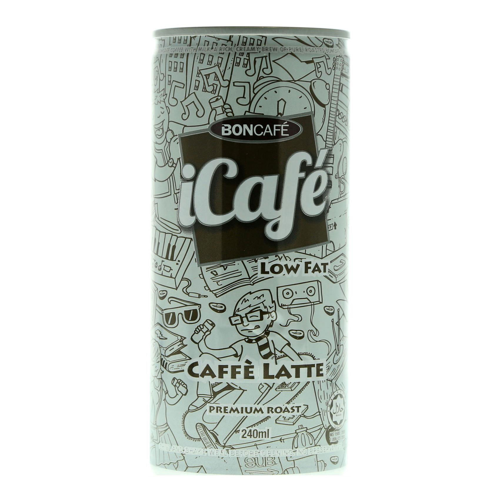 ICAFE ICED MILK COFFEE LOW FAT 240M