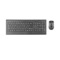 Promate Procombo-4 Wireless Keyboard And Mouse Black