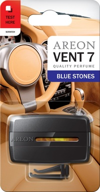 Areon Air Freshener Blue Stones Vent 7 Ml