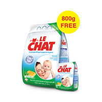 Le Chat Detergent With Aloe Vera 6KG + 2KG Free