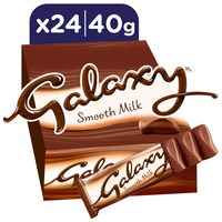 Galaxy® Smooth Milk Chocolate Bars 40g x 24