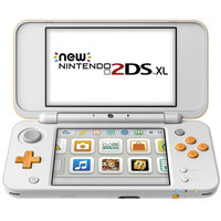 Nintendo New 2DSXL Orange&White+2 Assorted Games