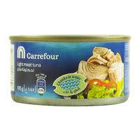 Carrefour Light Meat Tuna Chunks in Water 185g