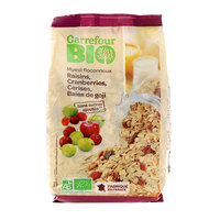 Carrefour Bio Organic Muesli Flaky No Added Sugar 500g