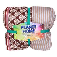 Planet Home Microfiber Comforter 220X240 Brown