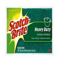Scotch Brite Sponge L Heavy Duty Scrub Cell 1