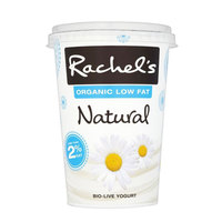 Rachel's Organic Low Fat Natural Yoghurt 450g