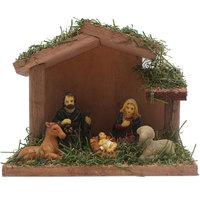 Christmas Nativity 12X5X9cm Multi Color Decoration