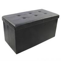 Storage Puf With 6Buton&Design (Pvc)