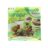 Kawan Roti Wraps Ready To Eat 360g