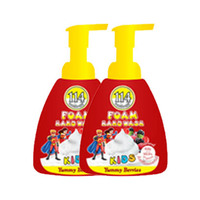 Amatoury Foam Hand Wash Kids Yummy Berries 400ML X2 + 300ML Free