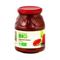 Carrefour Bio Organic Farming Tomato Pulp 240GR