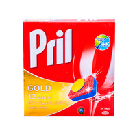 Pril Gold 12 Action Dishwashing 34 Tabs