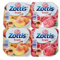Zott Zottis Mixed Fruit Yoghurt 115gx4
