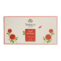 Yardley London Royal Roses Luxury Soap 3 x 100 g