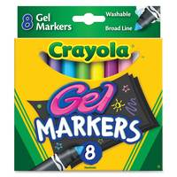 Crayola 8 Gel Fx Markers