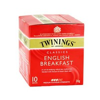 Twinings English Breakfast 10 Sachet Cap
