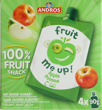 Andros Fruit Me Up Apple 90gx4