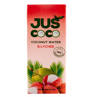 Juscoco Coconut Water & Lychee 200ml