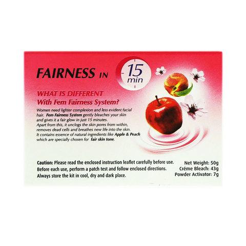 Fem-Apple-&-Peach-Fairness-Creme-50g
