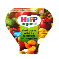 Hipp Shell Shape Pasta with Tomato & Courgettes 250 g