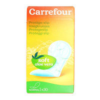 Carrefour Panty Liner Aloe Vera Medium 30's