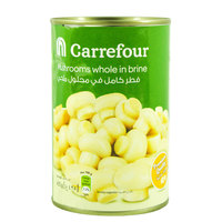Carrefour Mushrooms Whole in Brine 425 g
