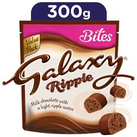 Galaxy® Ripple Chocolate Bites 300 g