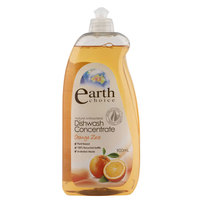 Earth Choice Dishwash Concentrate Orange Zest 900ml