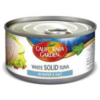 California Garden White Solid Tuna in Water & Salt 170g
