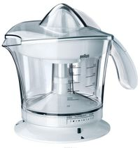 BRAUN Citrus Press MPZ9 1 Liter 20 Watt White