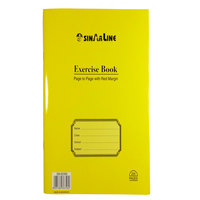 Sinarline 100 Sheet Exercise Book Page T