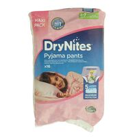 Drynites Pyjama Pants Jumbo 4-7 years For Girls 16 Counts