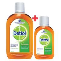 Dettol Anti Bacterial Antiseptic Disinfectant 500ml + 250ml