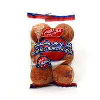 Fonte sesame burger bun jumbo bread 6 pieces - 500 g