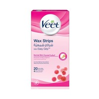 Veet Wax Strips Normal Skin 20 Strips