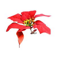 Christmas Fabric Flower 18CM