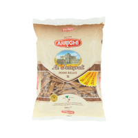 Arrighi Penne Rigate Whole Wheat 500GR
