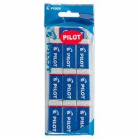 Pilot Plastic Eraser 10Pcs