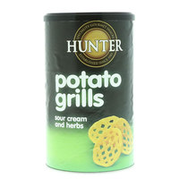 Hunter's Gourmet Potato Grills Sour Cream And Herbs 100g