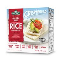Organ Gluten Free Toasted Rice CrispBread 125GR