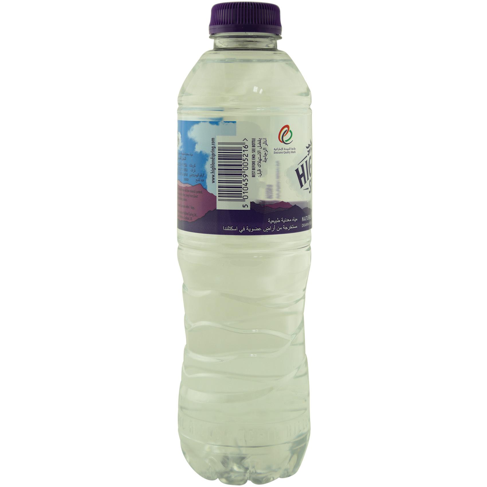HIGHLAND SPRING WATER 500ML