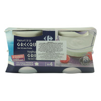 Carrefour Greek Yoghurt With Mixed Fruits 150gx4