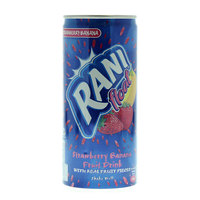 Rani Float Strawberry Banana Fruit Drink with Real Fruit Pieces 240ml