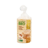 Carrefour Bio 4 Cereal Cakes 100GR
