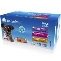 Carrefour Dog Food Mince with Lamb, Rabbit & Vegetables 150gx6