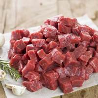 Beef cubes fresh local (per Kg)