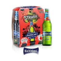 Barbican Malt Beverage Strawberry 330ML X6