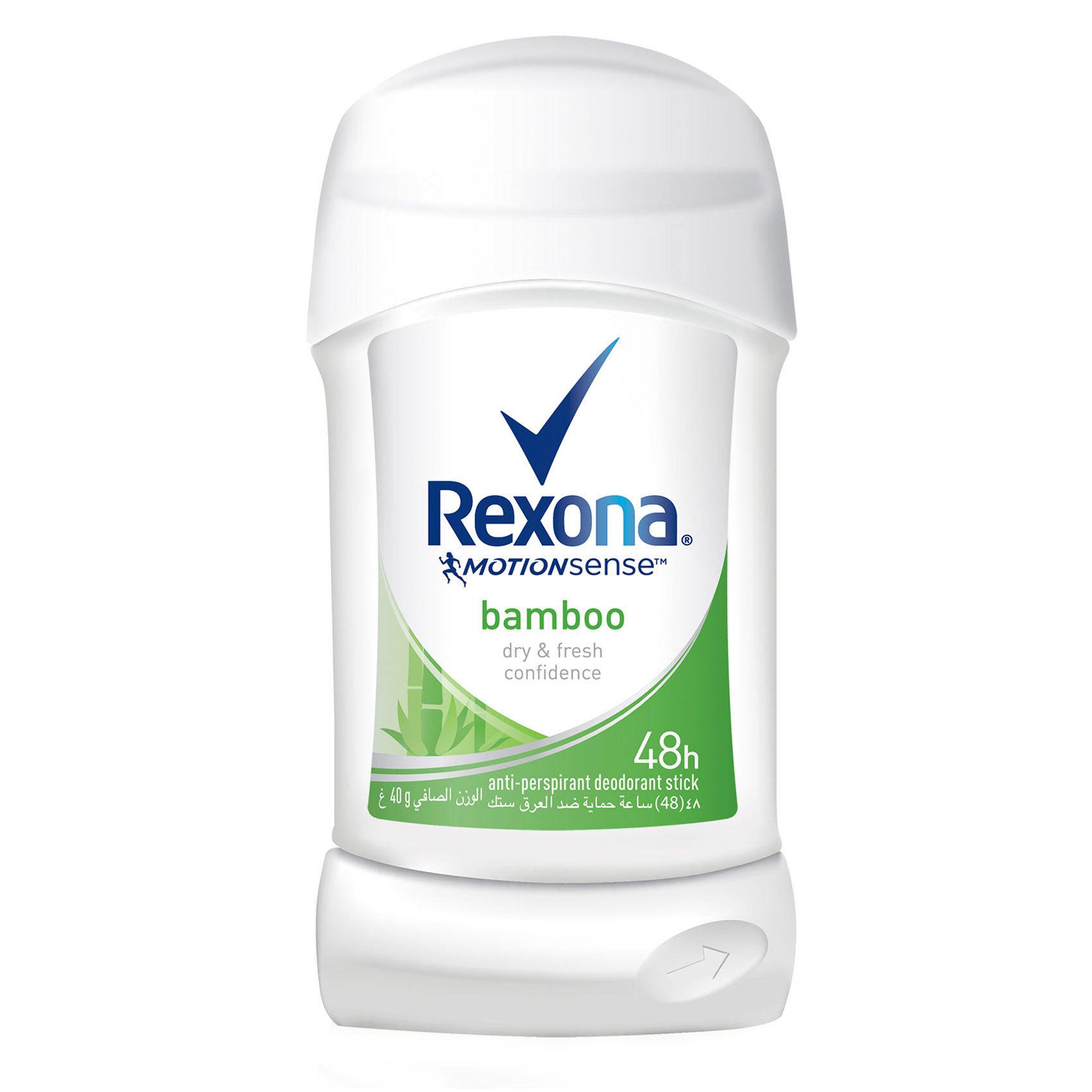 REXONA STICK BAMBOO 40G