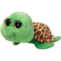 Ty Beanie Boos Turtle Zippy Green Plush 6.5""